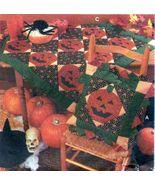 Halloween Pumpkin Thanksgiving Turkey Feather Quilt Block Botsford Sew P... - $13.99