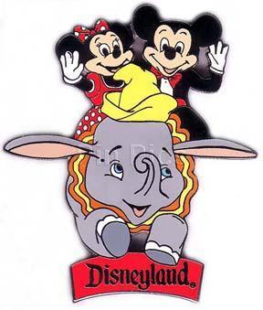 Disney DLR - Mickey & Minnie Dumbo Ride  Pin/Pins