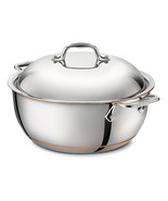 All clad copper core covered 5.5qt dutch oven thumbtall