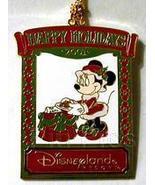 Disney  DLR Minnie Christmas 2001 Ornament pin/pins - $19.34