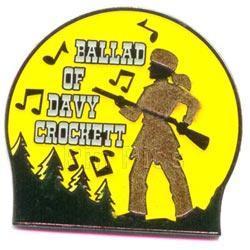 Disney Davy Crockett  Magical Musical Moments pin/pins