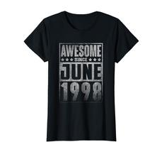 Uncle Shirts -   Awesome Since JUNE 1998 Straight Outta 20 Years Old Being Wowen image 2