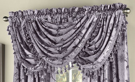 "Floral Lustre Curtain Panel, Lilac, 63"" length, by Lorraine Home Fashions - $14.99"