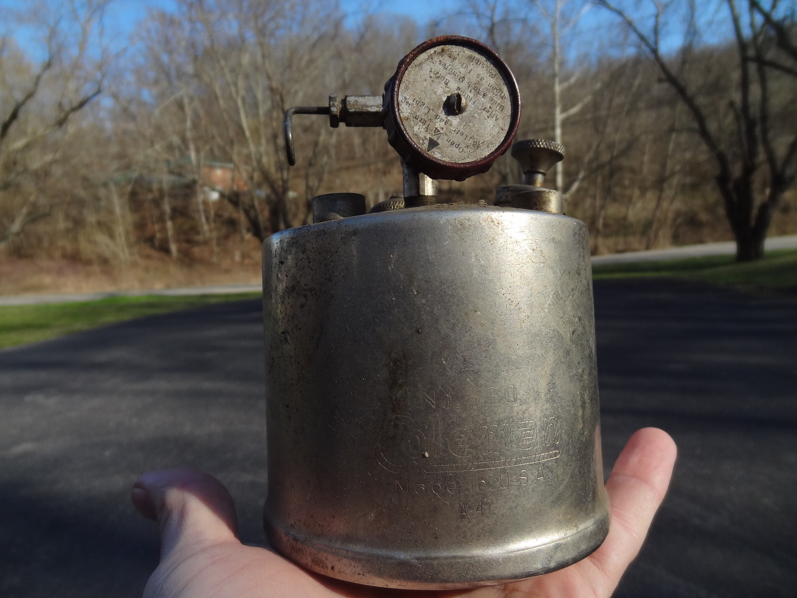 Coleman Camping Stove (1940s): 1 listing