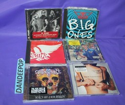 7 Aerosmith Music CDs Big Ones Greatest Hits Young Lust South Sanity Devil Dsgse - $49.49