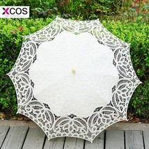 New Arrival Battenburg Lace Parasol Bride Umbrella Accessories For Weddi... - $31.87