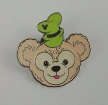 Disney Hidden Mickey 1 of 5 Duffy The Bear Wearing Goofy's Hat Trading Pin - $7.69
