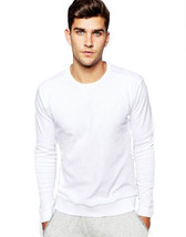 NEW HUGO BOSS MEN PREMIUM COTTON SPORT SWEATSHIRT SWEATER JACKET WHITE 50310598