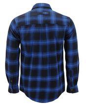 Men's Premium Cotton Button Up Long Sleeve Plaid Comfortable Flannel Shirt image 4
