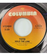 Toto – Hold The Line / Takin It Back 45 rpm Rock Pop Columbia Records 1978 - $7.84