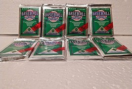 1990 Collectors Choice Upper Deck MLB Cards Unopened 8 Packs total 120 c... - $11.43