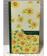 Vintage Miniature Purse/Pocket Address Book // Sunflower Design // Organ... - $0.00