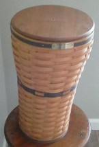Vintage Longaberger 1994 JW Collection Umbrella Basket w/ Lid - $73.50