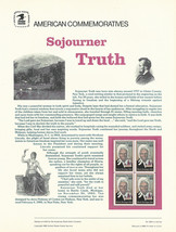 Official Sojourner Truth USPS Commemorative Panel (CP311)  - $5.80