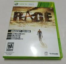 Rage Anarchy Edition (Microsoft Xbox 360, 2011) Tested - $14.84