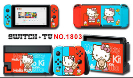 Vinyl Decal Skin Sticker Protector for Nintendo Switch Hello Kitty #1803 - $9.88