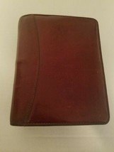 "FRANKLIN COVEY USA Planner Compact 1.25"" Rings  Burgandy LEATHER - $59.39"