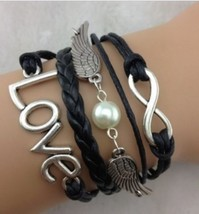 << Braided Strap Bracelet **Love Wings** >> We Combine Shipping 1 - $3.75