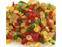 Paradise Fruit Diced Glazed Holiday Fruit Mix- Bulk 10 lbs. - $59.35