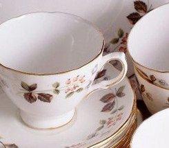 Colclough Berry Pattern 8189 Sugar Bowl - $31.85