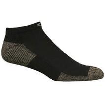 Copper Sole Socks Black Everyday Active Athletic Low Cut NEW Unisex 3 PR... - $10.88