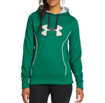 NEW UNDER ARMOUR WOMEN'S PREMIUM STORM CALIBER SPORT GYM WORK OUT HOODIE GREEN image 2