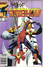 Web of Spider-Man Comic Book #2 Marvel Comics 1985 VERY GOOD+ - $2.25
