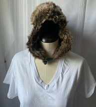 H&M Winter Hat Unisex Trapper Eskimo Snow Hat Warm Fleece Lined Cotton - $12.19