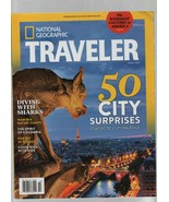 National Geographic Traveler - October 2014 - Sharks, Namibia, Colombia,... - $1.18