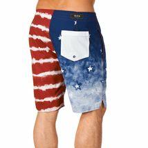 Kr3w Mens Medicate America USA Stars % Stripes Swim Surf Board-Shorts NWT image 4