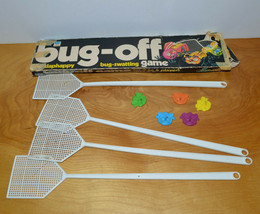 Vintage BUG-OFF Game Bug Swatting Whitman 1977 1970'S Toys Parts - $8.79