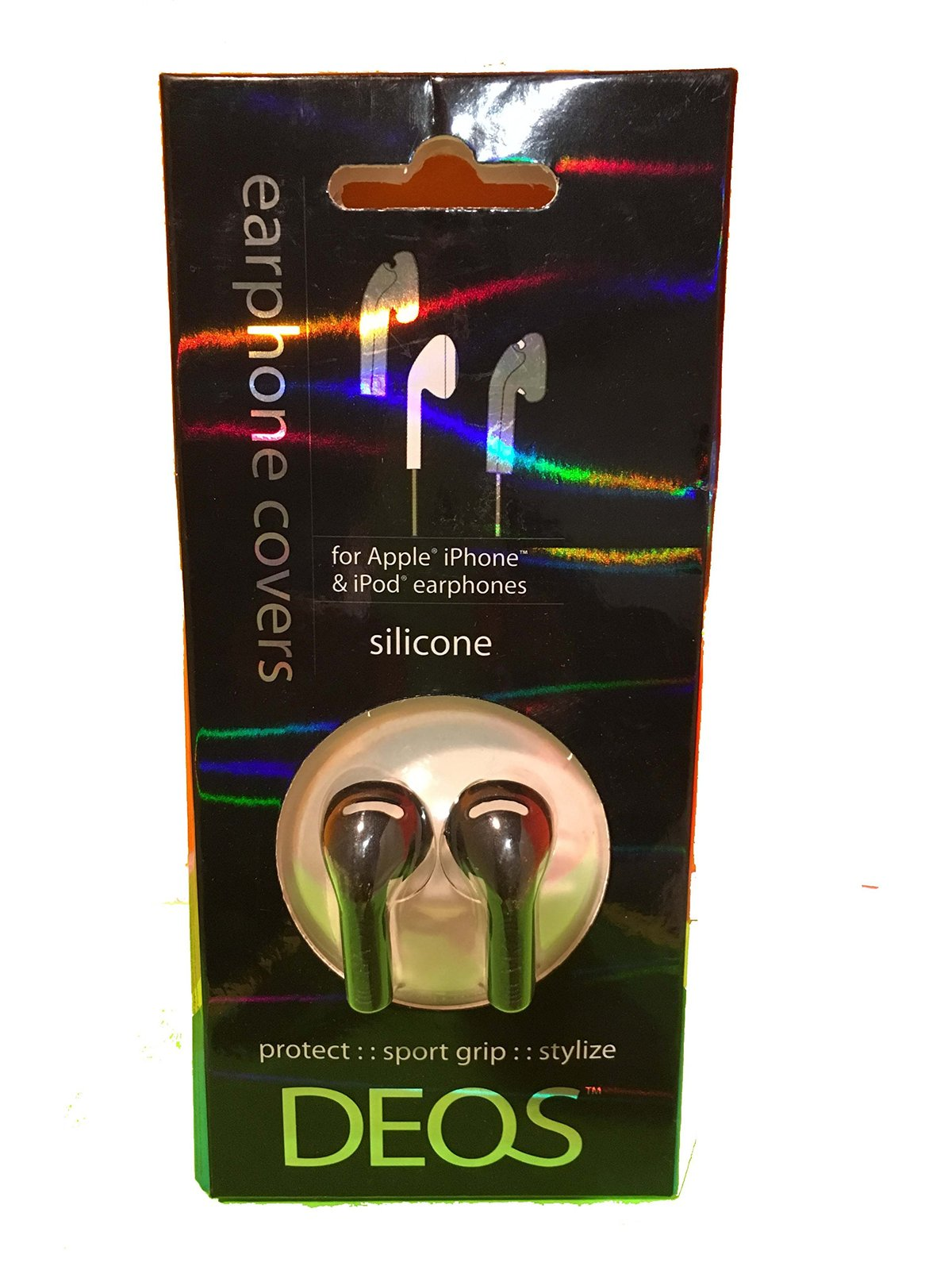 DEOS Silicone Earphone Covers For Apple iPhone & iPod Earphones