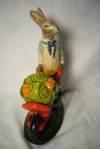 Vaillancourt Folk Art Collectors Weekend Rabbit paintiong sample signed by Judi! image 2