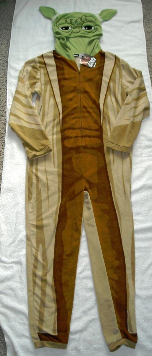 3c022d5f7 Nwt Mens Star Wars Yoda Union Suit Pajamas and 50 similar items