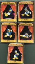 Disney  Donald Duck Set of 5 LE Pin/Pins - $124.80