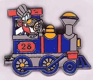 Disney Donald Duck Train Engineer Never Sold Pin/Pins