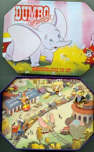 Disney Dumbo 55 Commerative set 6 Pin/Pins