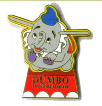 Disney Dumbo Elephent  WDW Fantasyland Ride pin/pins - $24.18