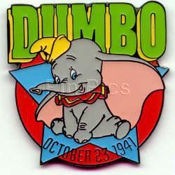 Disney Dumbo  dated  1941 cute Rare Movie Pin/Pins