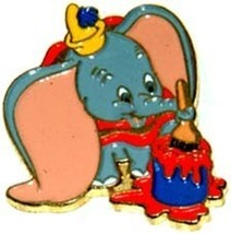 Disney Dumbo holding Paint Brush Cast  Member Pin/pins - $62.87
