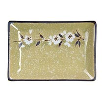 Kylin Express Rectangle Ceramic Dinner Plate Creative Japanese Sushi Plate, No.5 - $23.29