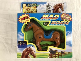 VINTAGE MAD HORSE BATTERY OPERATED HORSE 1998 FUNMAX TOY - $18.47