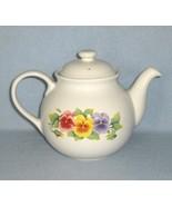 Corelle Summer Blush Coordinates Stoneware Tea Pot 5 Cup - $15.99