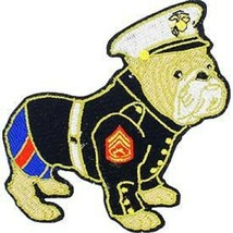 USMC E-6, Staff Sergeant Bull Dog Dress Uniform Patch - $1,000.00