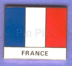 Disney France World Showcase Cast Member flag Pin/Pins - $77.49