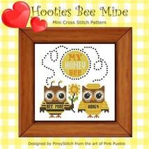 Hooties Be Mine cross stitch chart Pinoy Stitch - $6.30