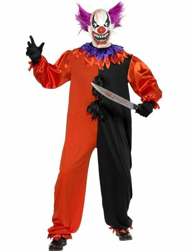 Primary image for Cirque Sinister Spaventosa Bo il Clown Costume, Halloween 86.4cm-91.4cm
