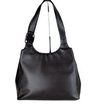 a97f97134b Authentic Salvatore Ferragamo Vara Dark Brown Patent Leather Shoulder Bag  Purse -  147.51