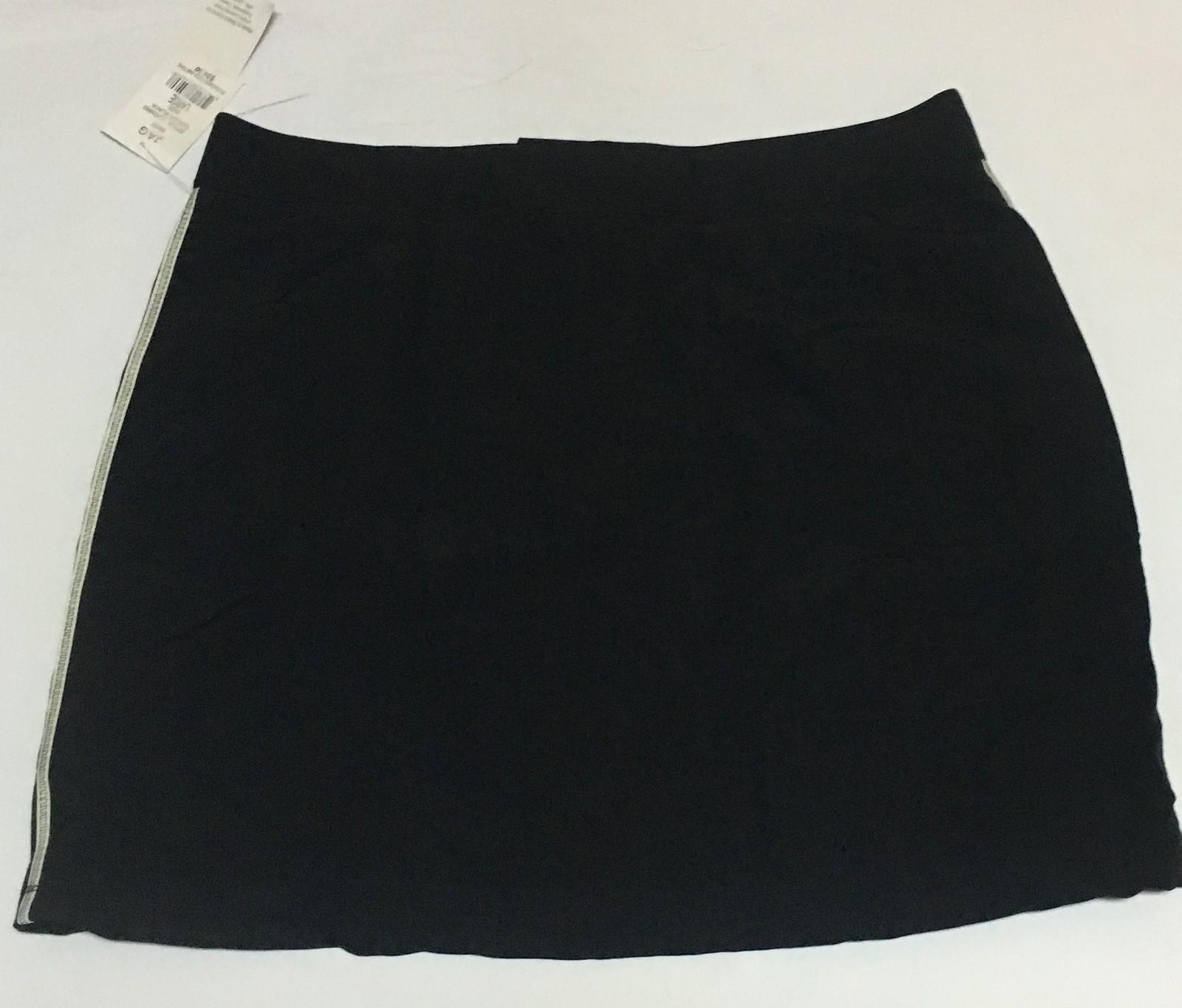JAG Black Active Performance Skirt SZ L NWT