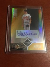 Mike Mussina Auto Autograph Donruss Leaf Limited 2004 Orioles Yankees 3 ... - $149.99